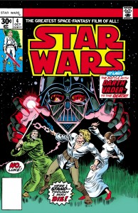 Star Wars #4:: In Battle with Darth Vader (12.07.1977)