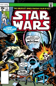 Star Wars #5:: Lo, The Moons of Yavin (10.08.1977)