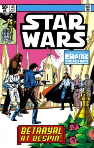Star Wars #43: The Empire Strikes Back: Betrayal at Bespin (28.10.1980)