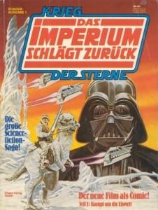 Krieg der Sterne, Sonderausgabe 1: Das Imperium schlägt zurück, Teil 1: Kampf um die Eiswelt (01.01.1981)