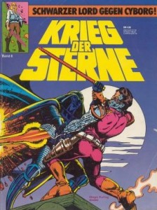 Krieg der Sterne, Band 8: Schwarzer Lord gegen Cyborg!