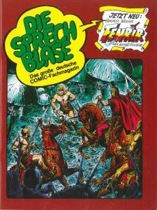 Die Sprechblase – Das große deutsche COMIC-Fachmagazin #45 (30.07.1982)