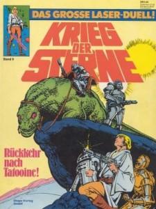 Krieg der Sterne, Band 9: Rückkehr nach Tatooine! - Das große Laser-Duell!