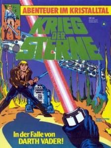 Krieg der Sterne, Band 11: In der Falle von Darth Vader! - Abenteuer im Kristalltal