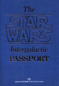 The Star Wars Intergalactic Passport (12.06.1983)