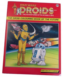 Droids: The Adventures of R2-D2 and C-3PO: Droid Colouring Book of the Future (10.12.1987)