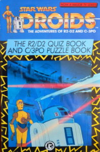 Droids: The Adventures of R2-D2 and C-3PO: R2-D2 Quiz Book and C-3PO Puzzle Book (10.12.1987)