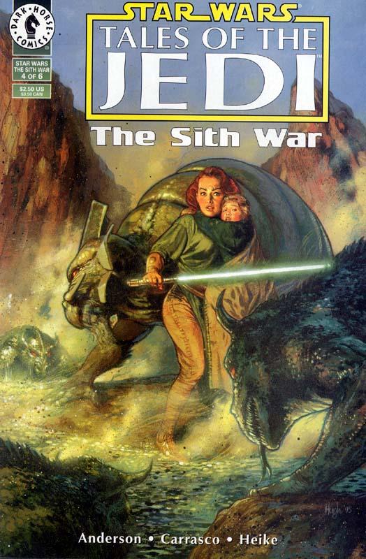 Tales of the Jedi: The Sith War #4: Jedi Holocaust