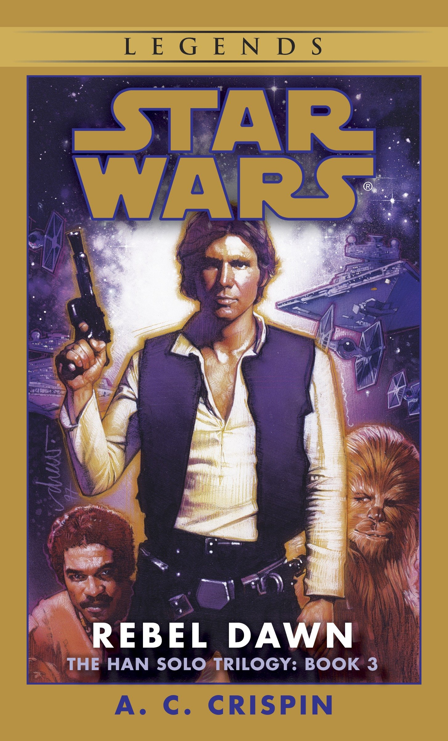 The Han Solo Trilogy 3: Rebel Dawn (Legends-Cover)