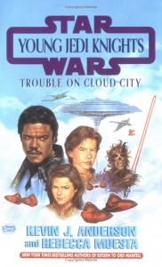 Young Jedi Knights 13: Trouble on Cloud City (Reprint Cover)
