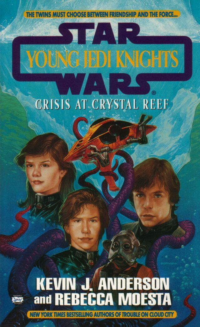 Young Jedi Knights 14: Crisis at Crystal Reef (Reprint Cover)