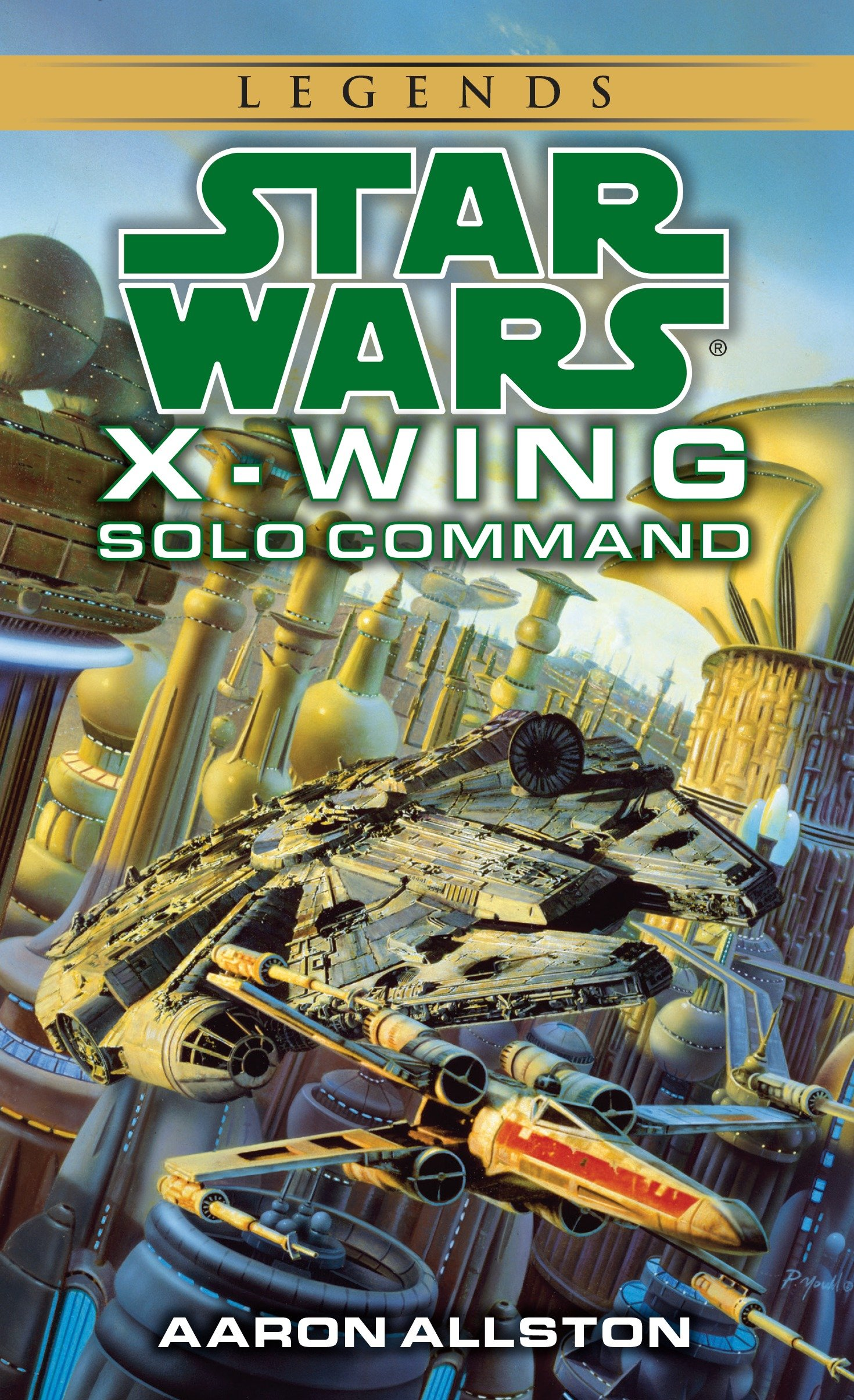 X-Wing: Solo Command (2015, Legends-Cover)