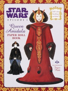 Star Wars Episode I: Queen Amidala Paper Doll Book (25.04.1999)