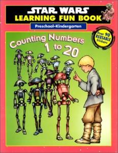 Star Wars Learning Fun Book: Preschool-Kindergarten - Counting Numbers 1 to 20 (20.07.1999)