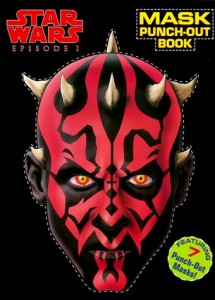 Star Wars Episode I: Punch-Out Mask Book (17.08.1999)