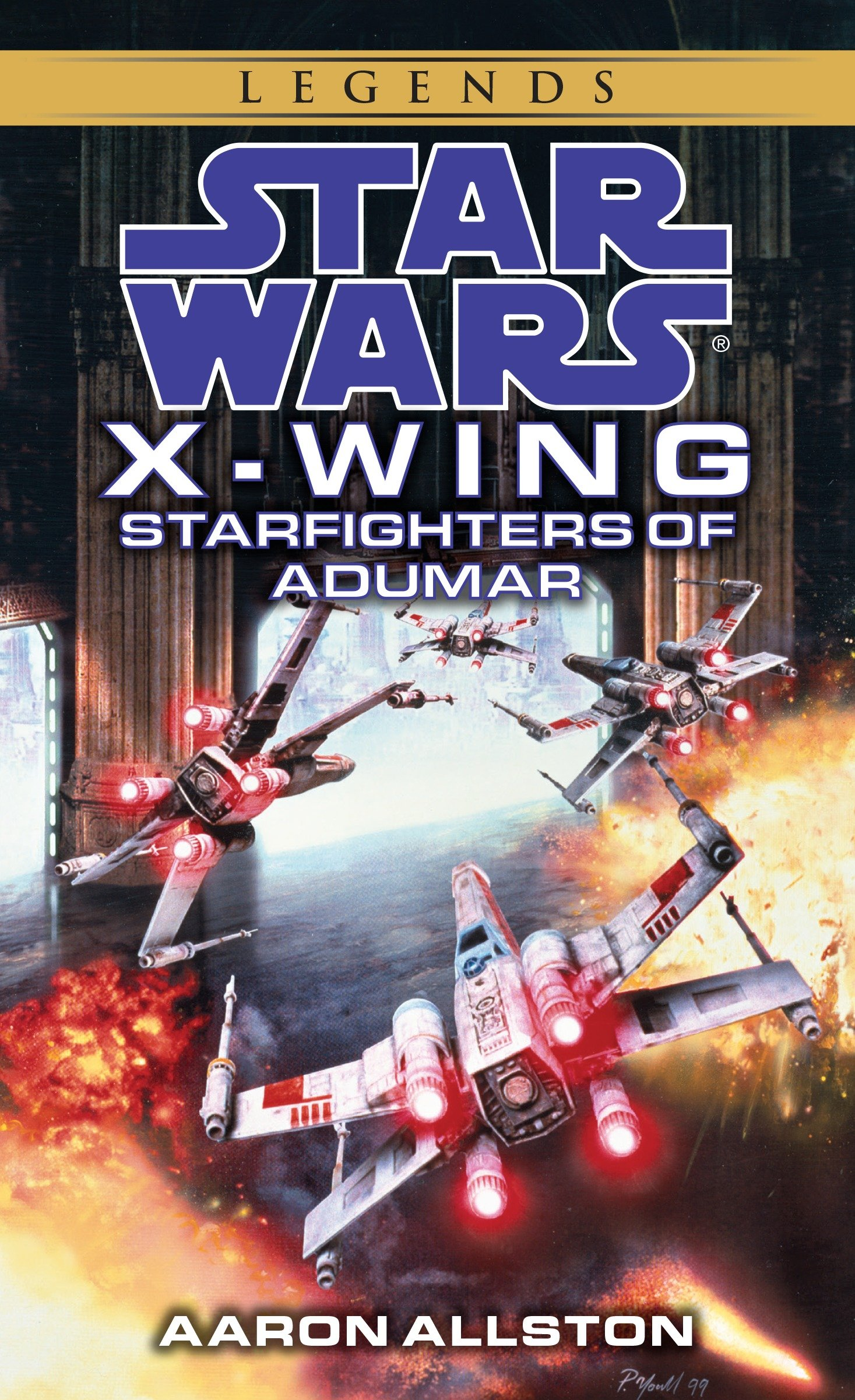 X-Wing: Starfighters of Adumar (2016, Legends-Cover)