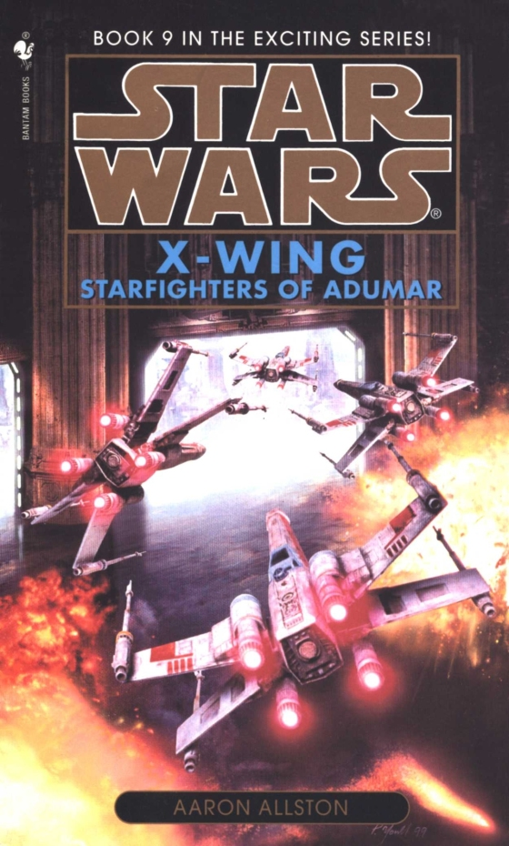 X-Wing: Starfighters of Adumar (Reprint Cover)