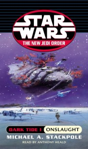 The New Jedi Order 2: Dark Tide I: Onslaught (2000, Hörkassette)