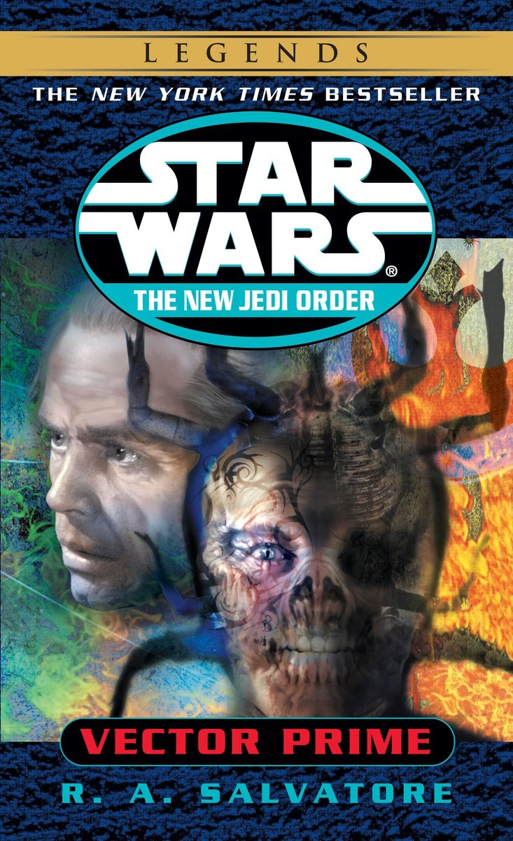 The New Jedi Order 1: Vector Prime (2014, Legends-Cover)