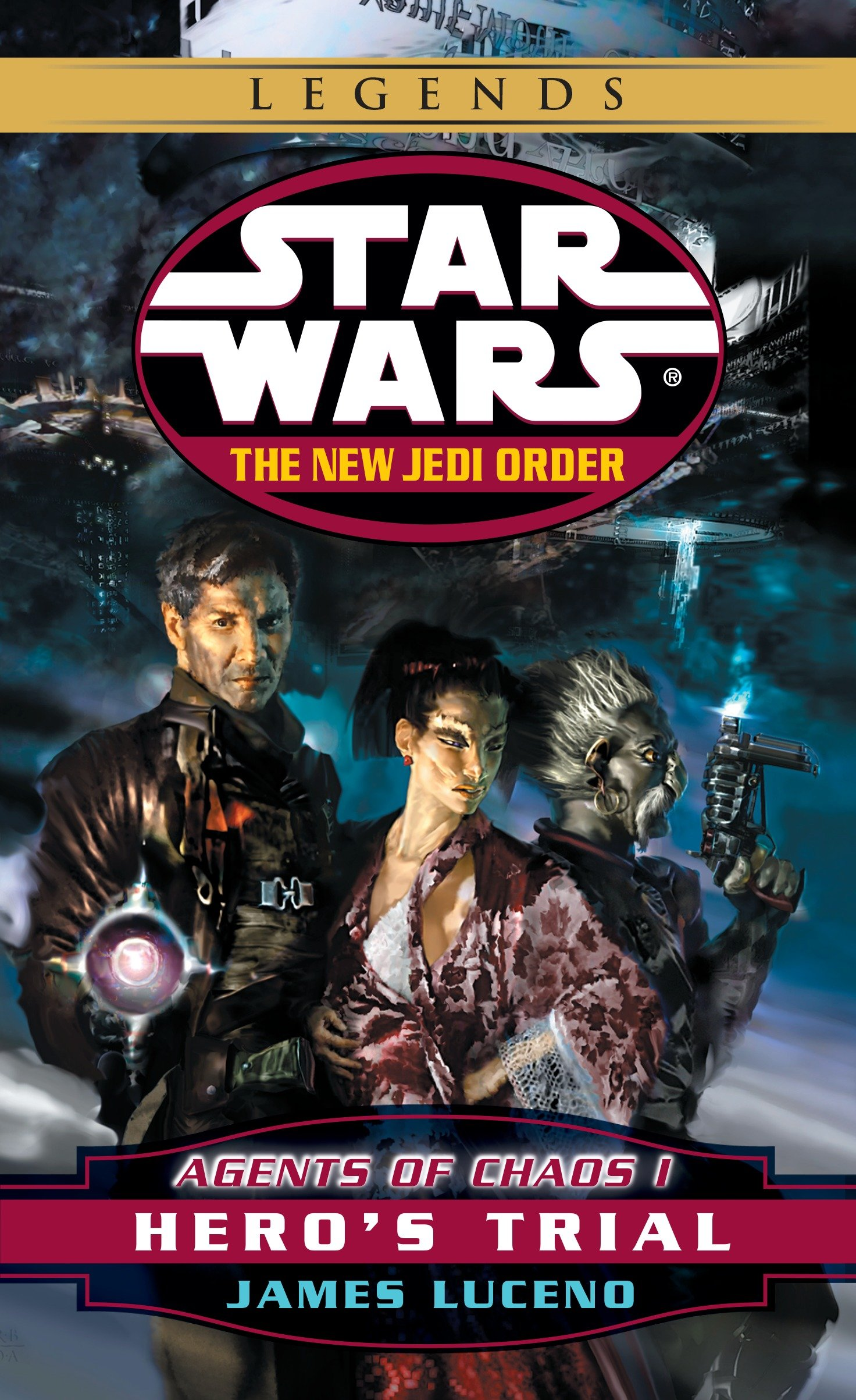 The New Jedi Order 4: Agents of Chaos I: Hero's Trial (2016, Legends-Cover)