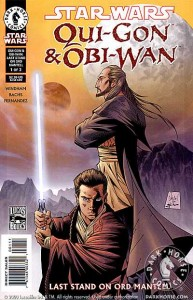 Qui-Gon & Obi-Wan: Last Stand on Ord Mantell #1 (Tony Daniel Cover)
