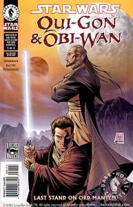 Qui-Gon & Obi-Wan: Last Stand on Ord Mantell #1 (Tony Daniel Cover)