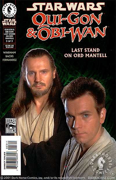 Qui-Gon & Obi-Wan: Last Stand on Ord Mantell #3 (Photo Cover)