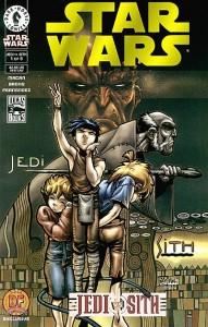Jedi vs. Sith #1 (Dynamic Forces Gold Foil Variant Cover)