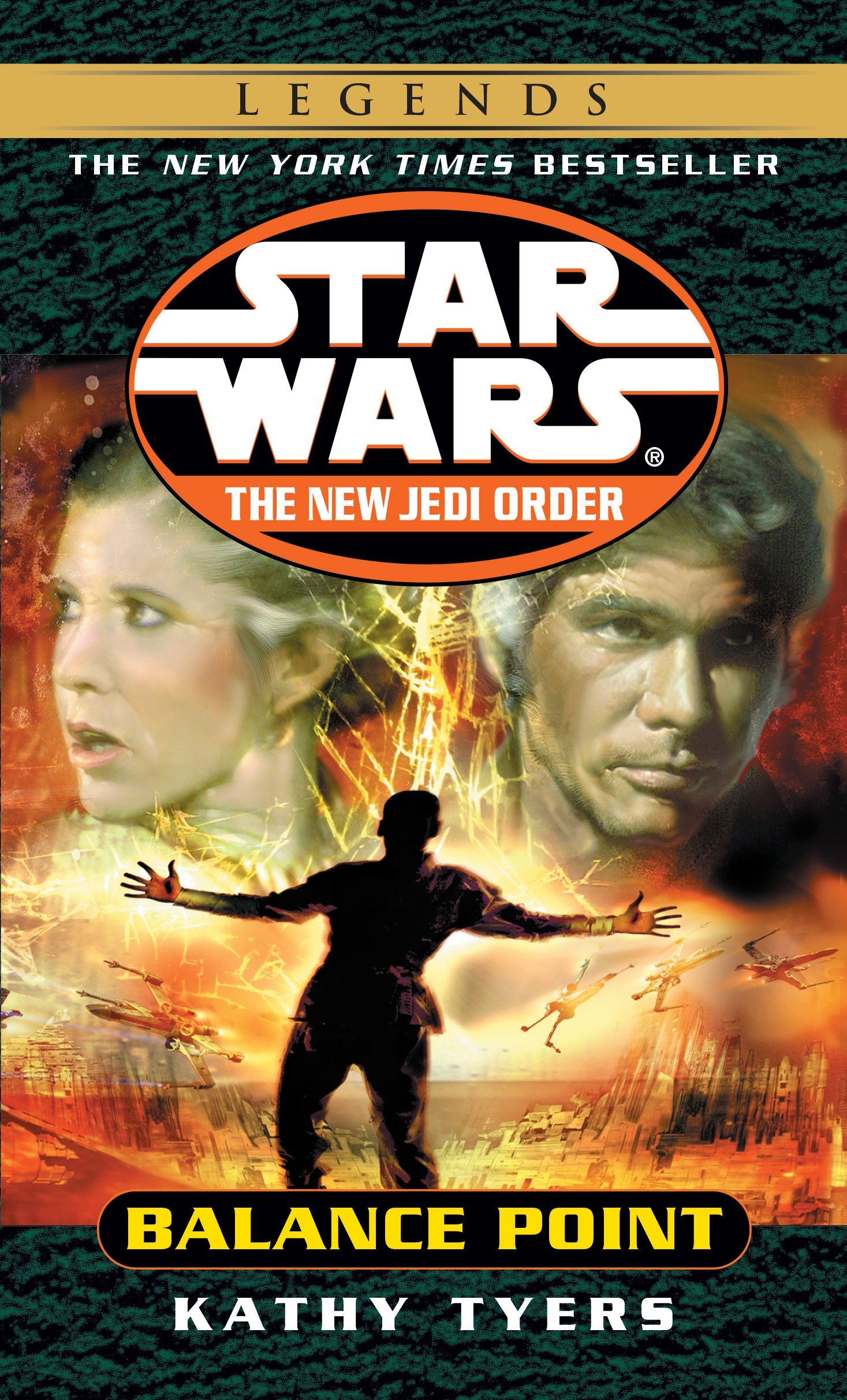 The New Jedi Order 6: Balance Point (2015, Legends-Cover)