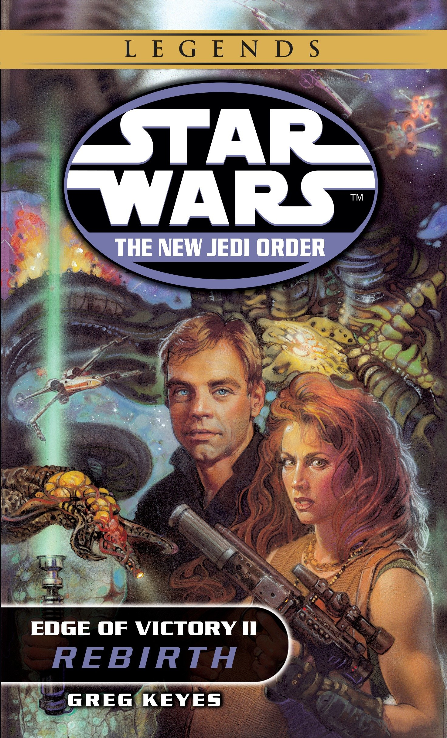 The New Jedi Order 8: Edge of Victory II: Rebirth (2017, Legends-Ausgabe)