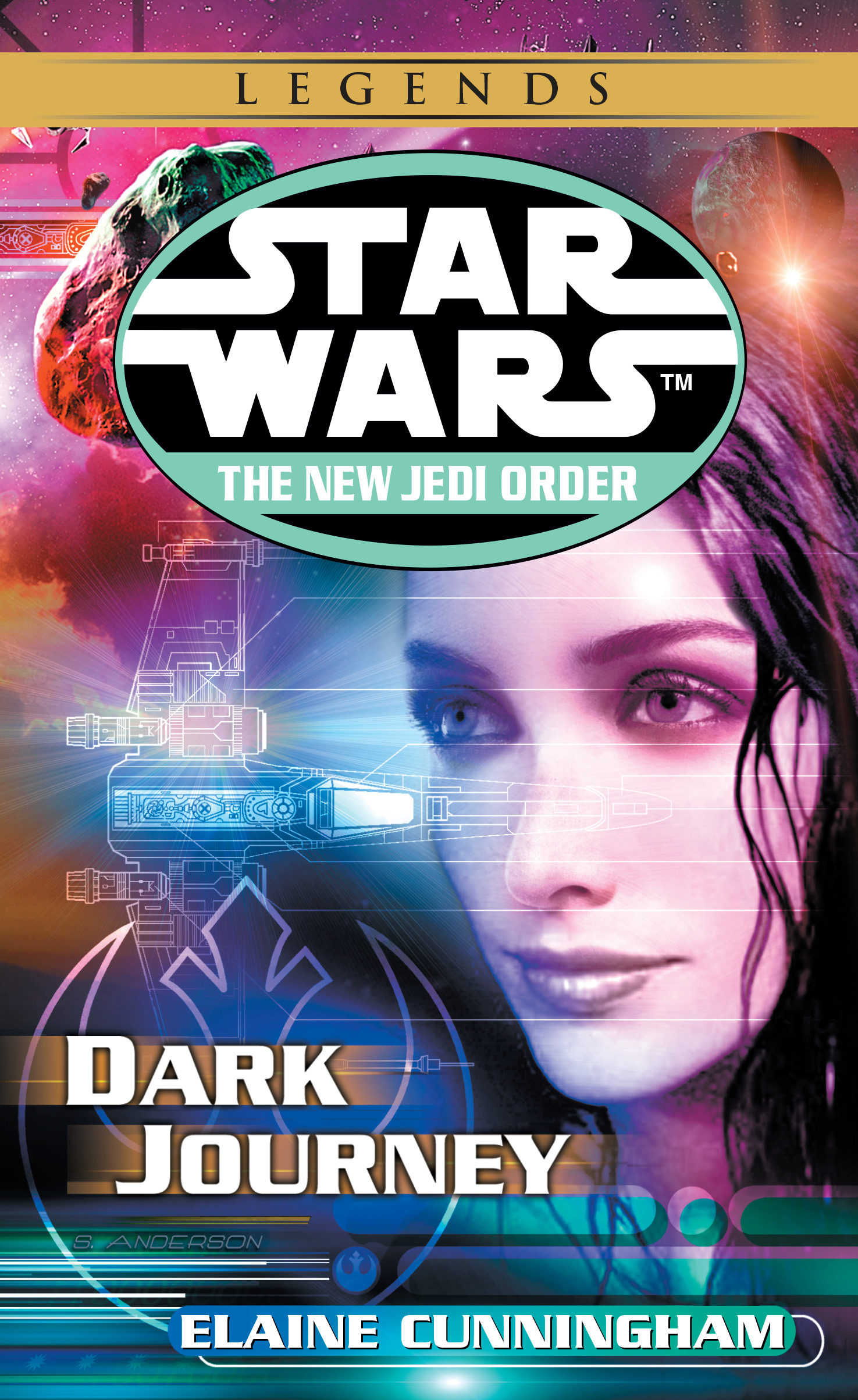 The New Jedi Order 10: Dark Journey (2018, Legends-Cover)