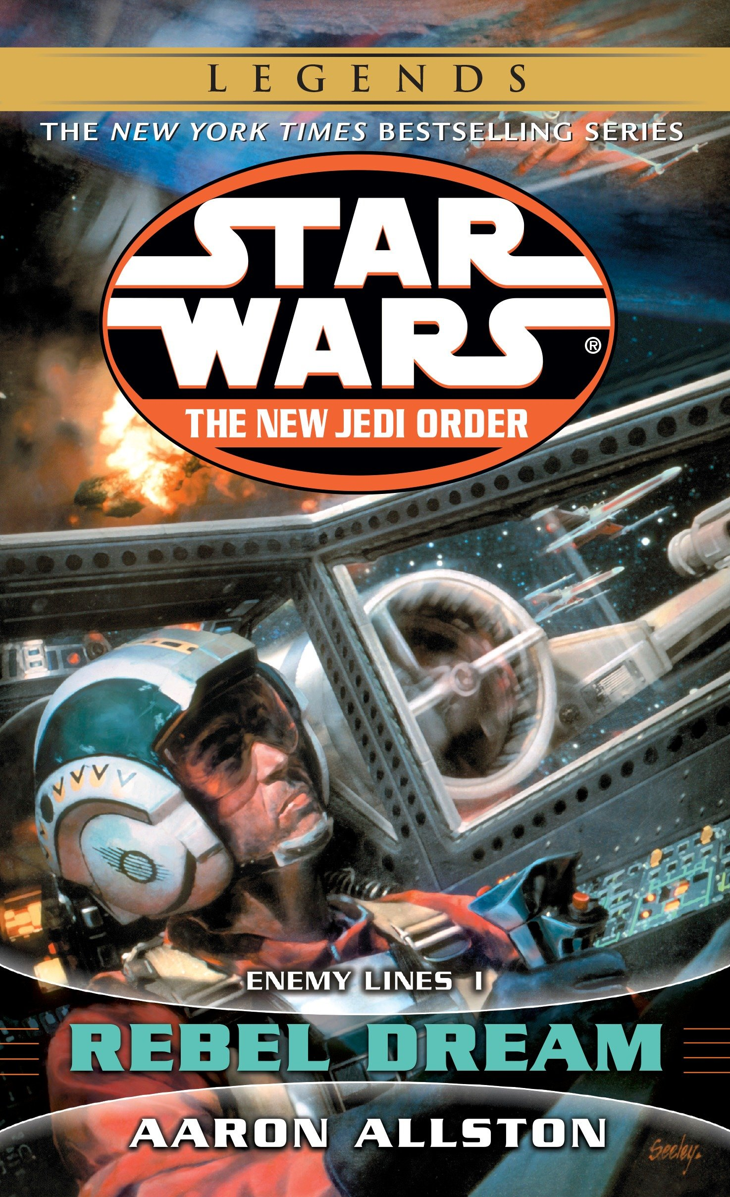 The New Jedi Order 11: Enemy Lines I: Rebel Dream (2015, Legends-Cover)