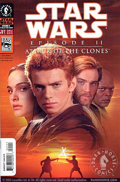 Episode II: Attack of the Clones #1 (Photo Cover) (24.04.2002)