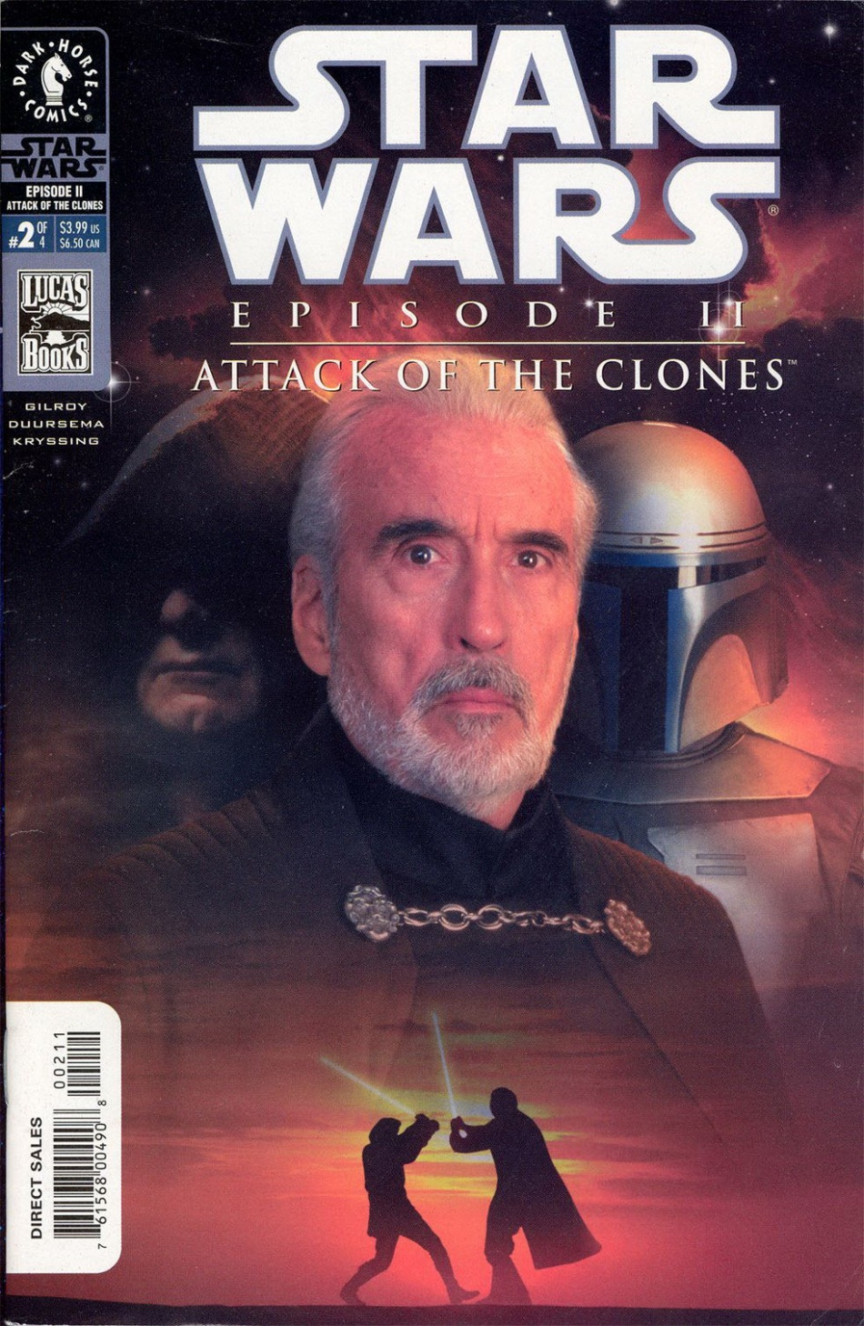 Episode II: Attack of the Clones #2 (Photo Cover) (24.04.2002)