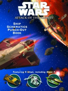 Attack of the Clones: Ship Schematics Punch-Out Book (23.04.2002)