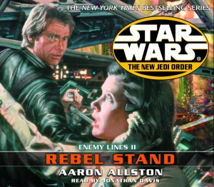 The New Jedi Order 12: Enemy Lines II: Rebel Stand (2002, CD)