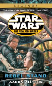 The New Jedi Order 12: Enemy Lines II: Rebel Stand (2016, Legends-Cover)