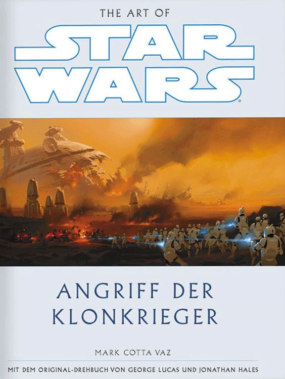 The Art of Star Wars: Episode II – Angriff der Klonkrieger (01.06.2002)