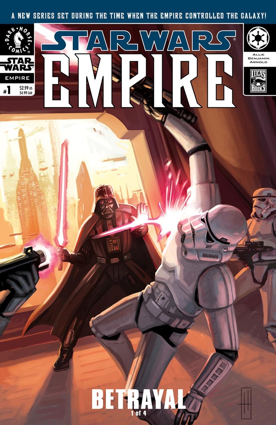 Empire #1: Betrayal, Part 1 (04.09.2002)
