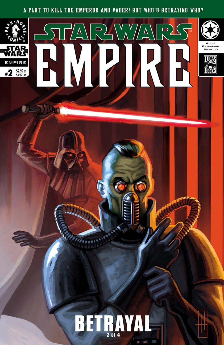 Empire #2: Betrayal, Part 2 (02.10.2002)