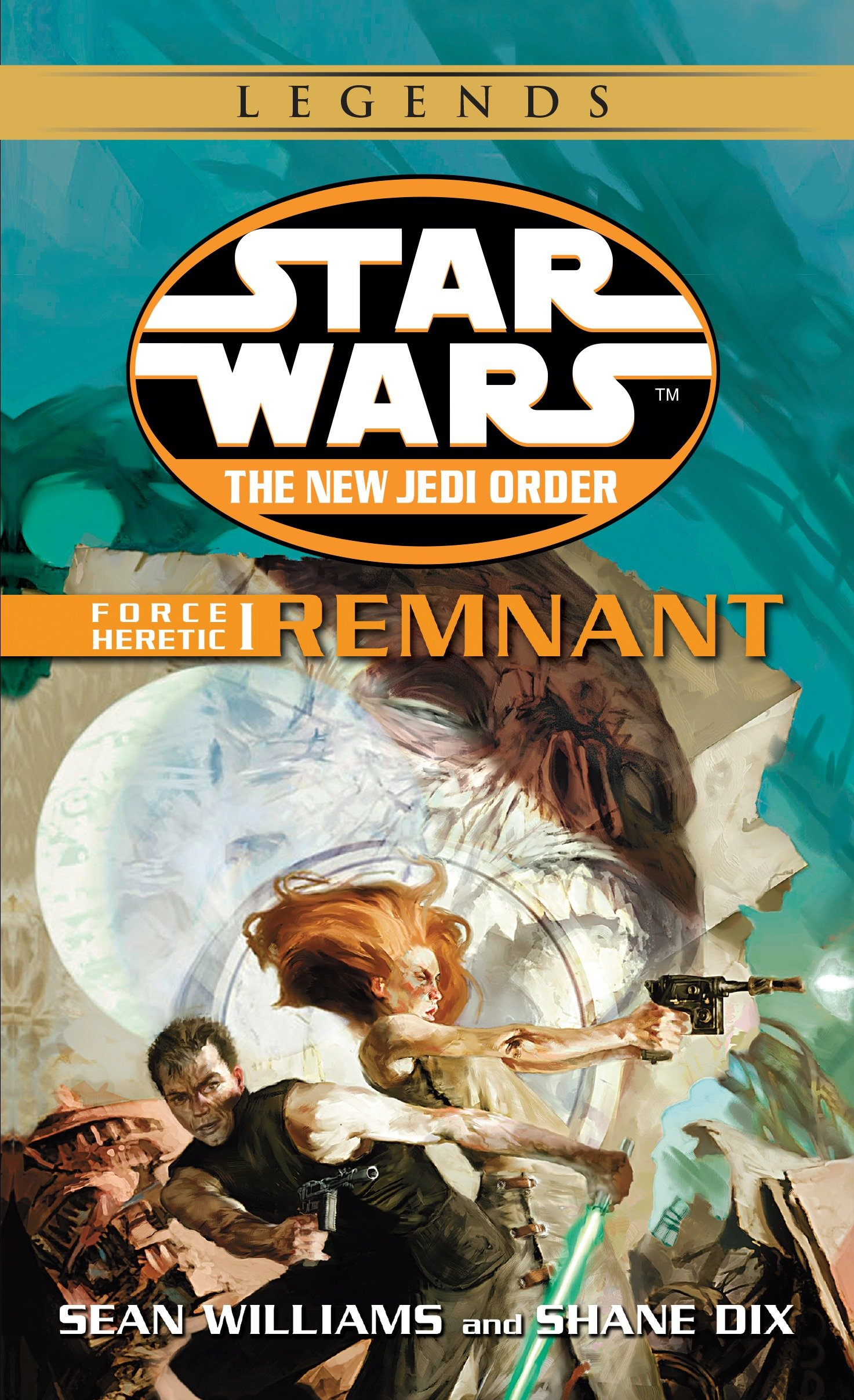 The New Jedi Order 15: Force Heretic I: Remnant (2017, Legends-Cover)