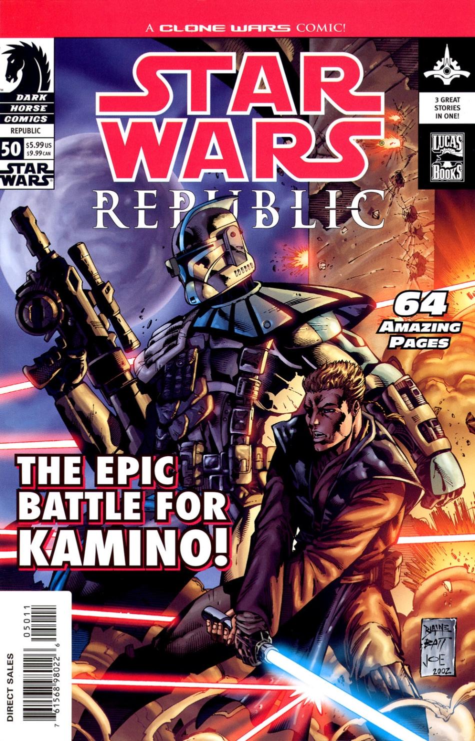 Republic #50: The Defense of Kamino (26.02.2003)