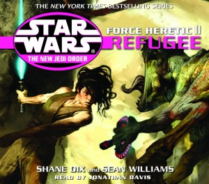 The New Jedi Order 16: Force Heretic II: Refugee (2003, CD)