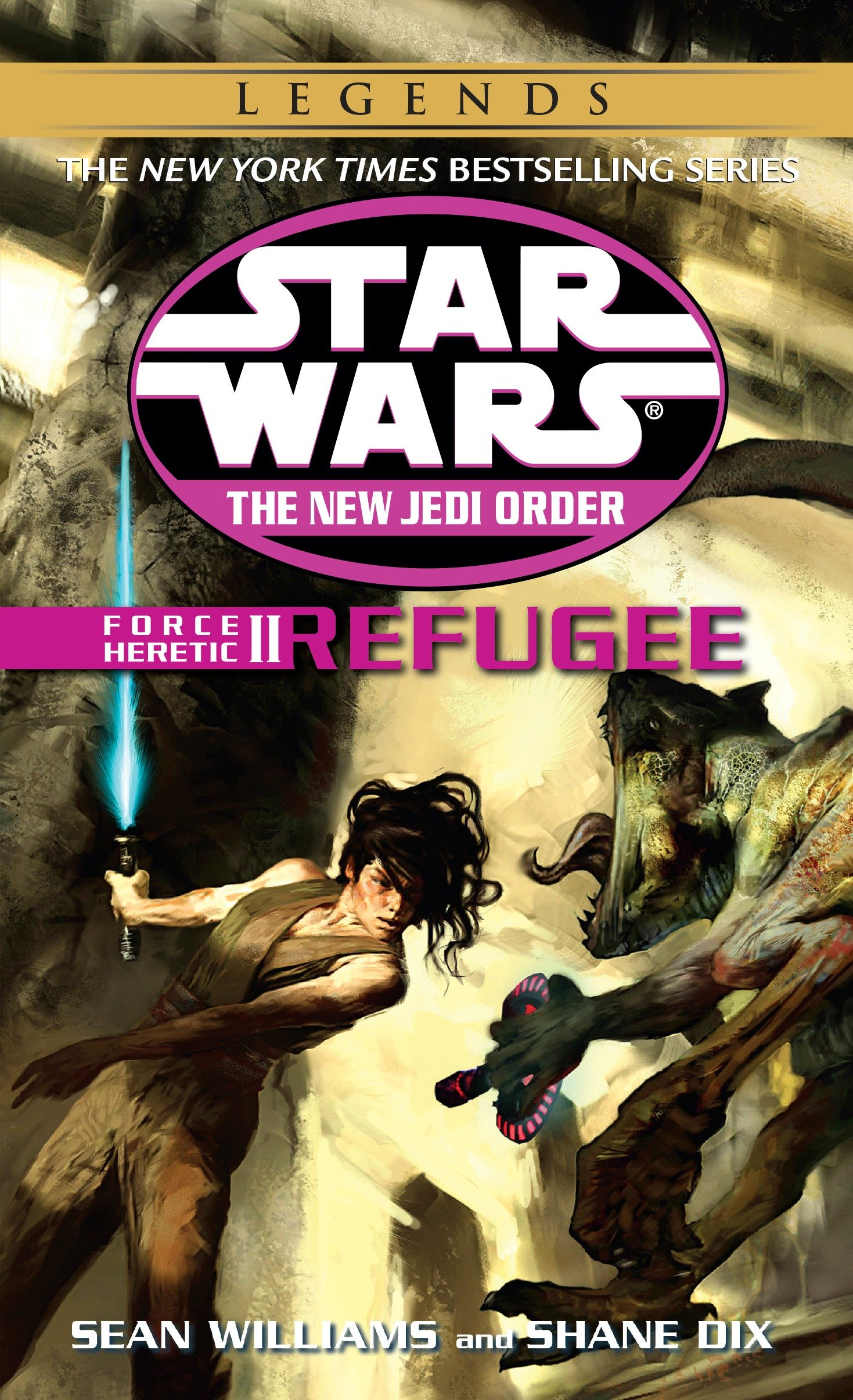 The New Jedi Order 16: Force Heretic II: Refugee (2015, Legends-Cover)