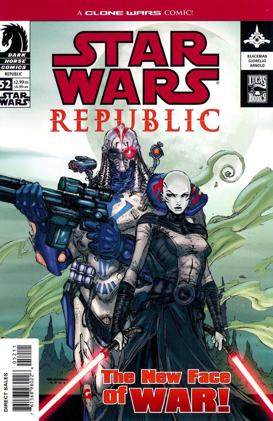Republic #52: The New Face of War, Part 2 (09.04.2003)