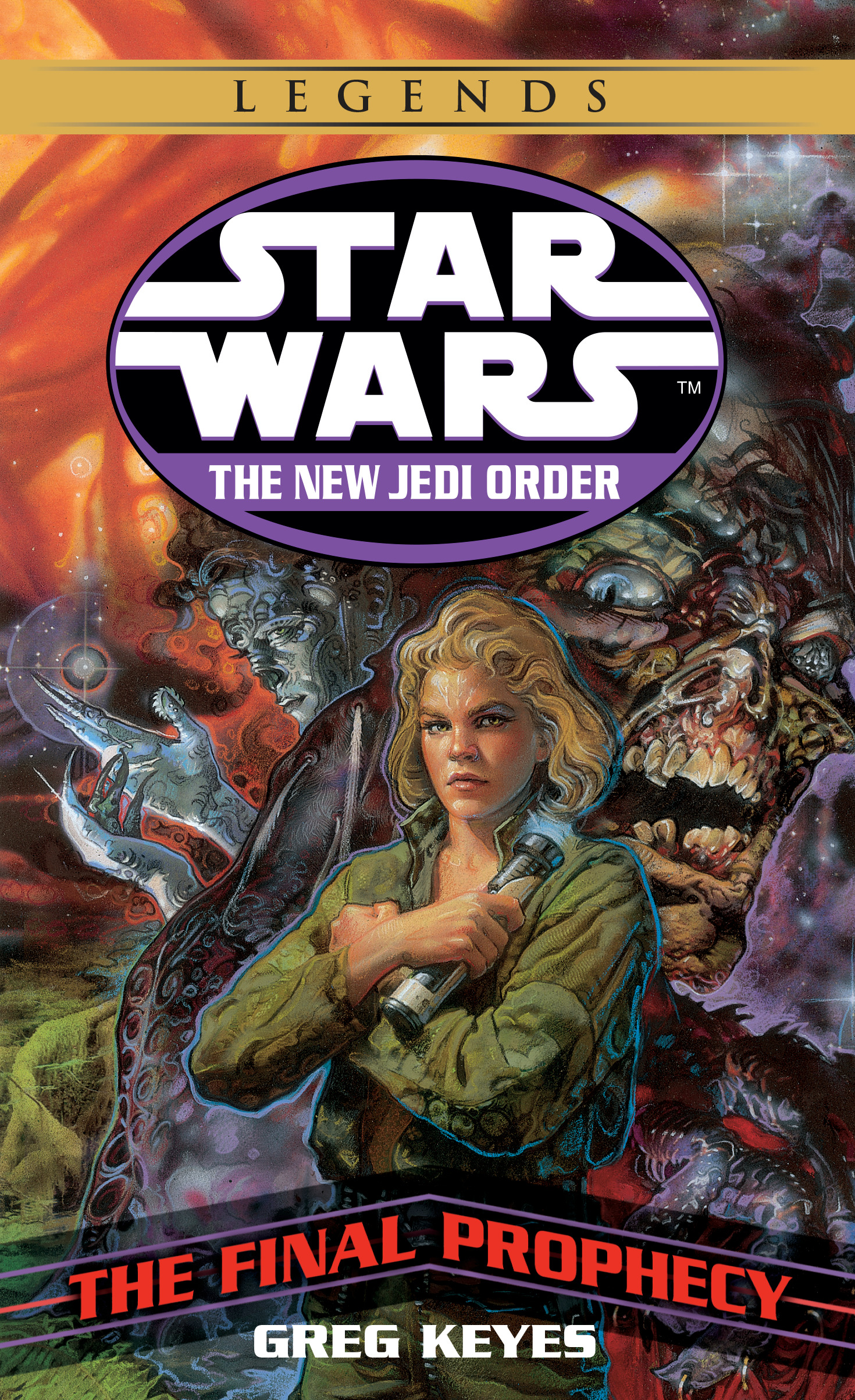 The New Jedi Order 18: The Final Prophecy (2018, Legends-Cover)