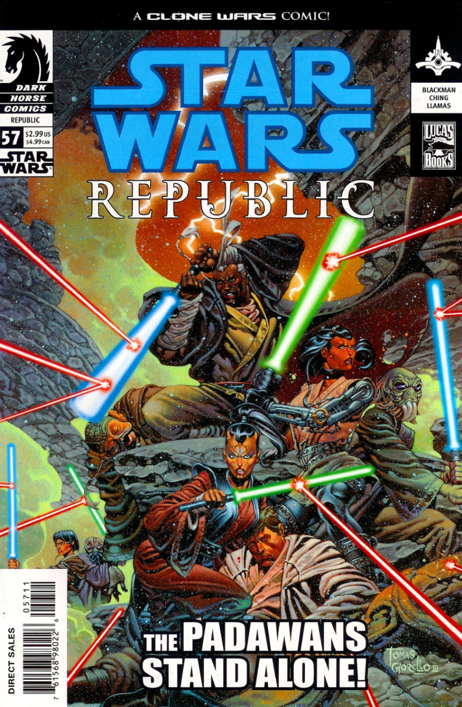 Republic #57: The Battle of Jabiim, Part 3 (24.09.2003)