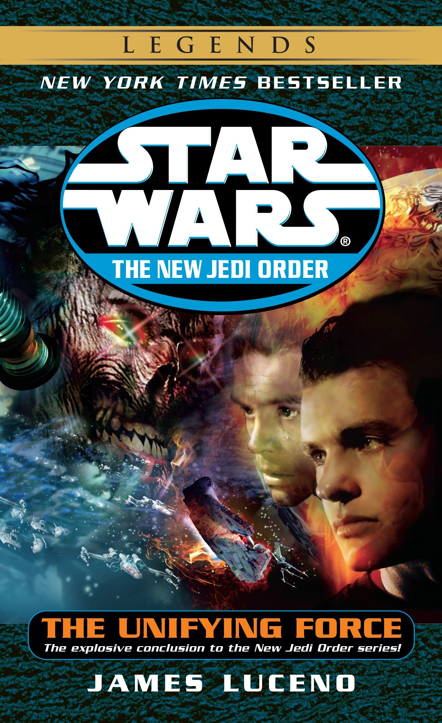 The New Jedi Order 19: The Unifying Force (2014, Legends-Cover)