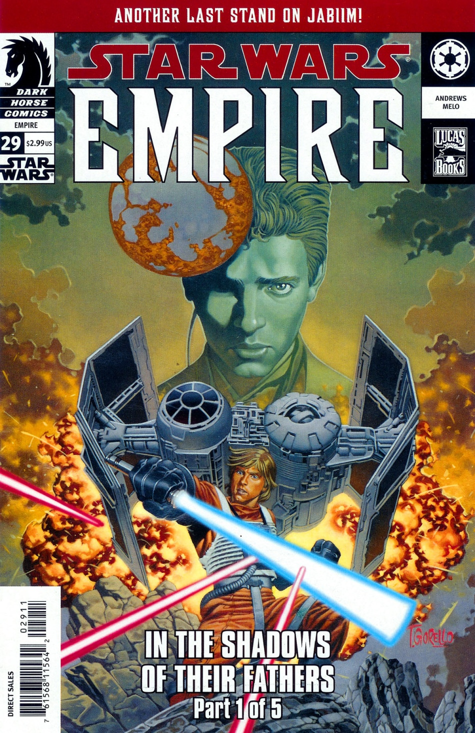 Empire #29: In the Shadows of Their Fathers, Part 1 (23.02.2005)