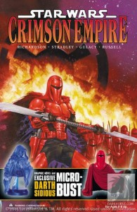 Crimson Empire Book and Exclusive Bust-Up Set